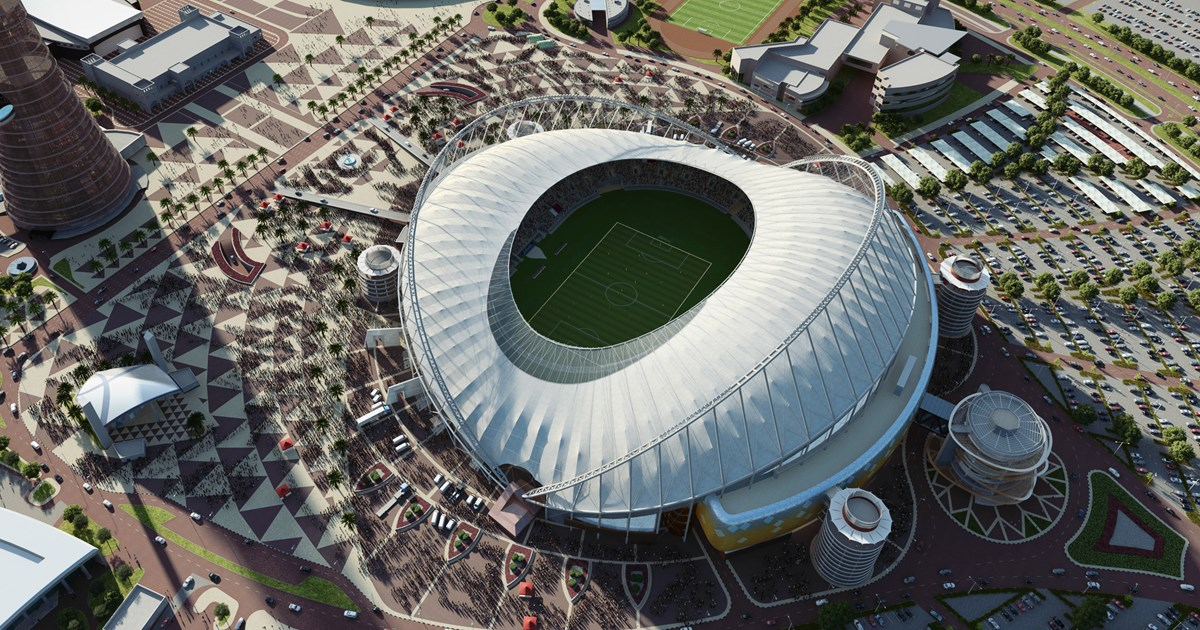 Total Renovation of Khalifa Stadium Qatar